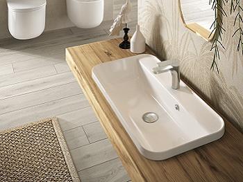 Vasca Da Bagno Incasso Sottopiano : Lavabi bagno hidra ceramica