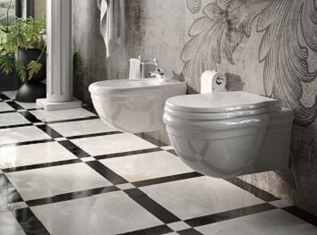 Vasca Da Bagno Globo Paestum : Sanitari sospesi classici u2013 accessori bagno bronz