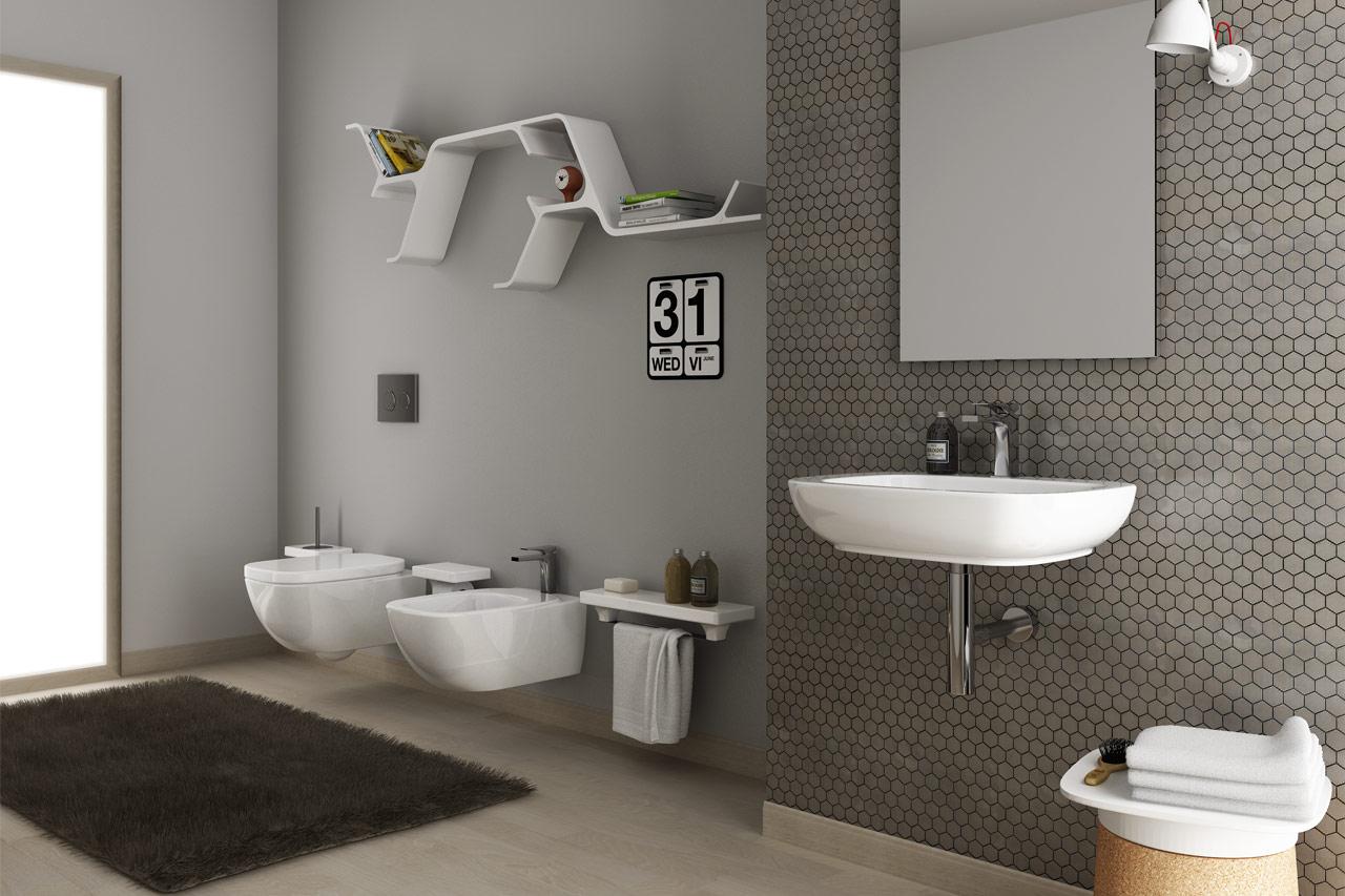 Arredo bagno, produzione lavabi ed articoli sanitari HIDRA Ceramica