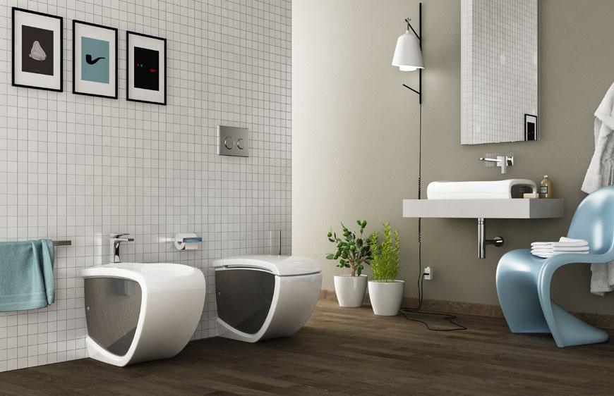 Ceramiche sanitari bagno Hi-line