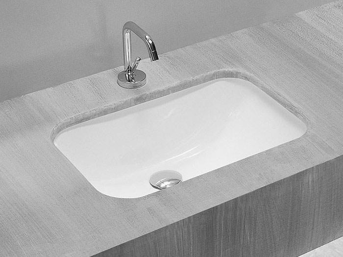 Lavabo sottopiano nettuno - Accessori bagno in ceramica da incasso ...