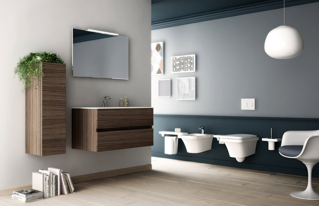 sanitari sospesi flat. Black Bedroom Furniture Sets. Home Design Ideas