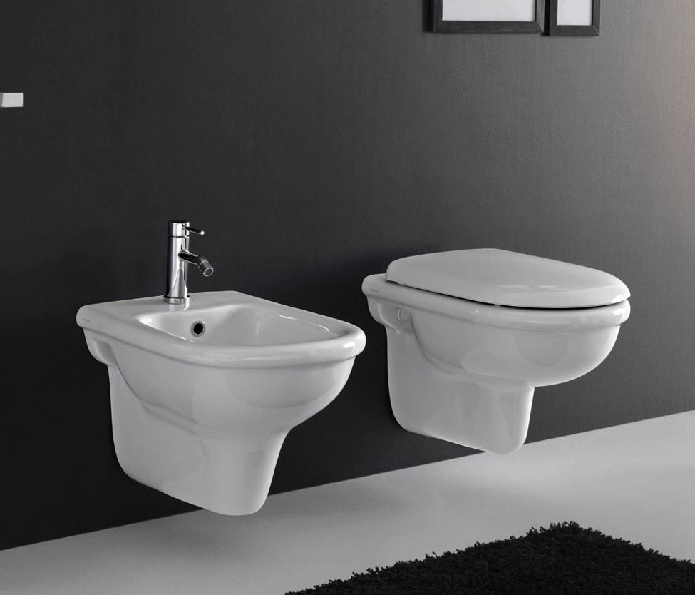 Sanitari sospesi pluvia for Sanitari bagno